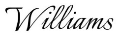 williams-name-design8